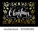 chic and luxury christmas...   Shutterstock .eps vector #525289282