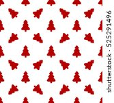 pattern for wrapping paper. red ... | Shutterstock .eps vector #525291496