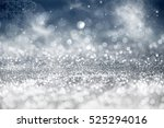 magic blue holiday abstract... | Shutterstock . vector #525294016