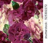 art vintage blurred monochrome... | Shutterstock . vector #525302272