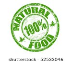 green grunge rubber stamp with... | Shutterstock .eps vector #52533046