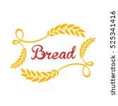bread logo. | Shutterstock .eps vector #525341416