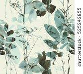 art vintage blurred monochrome... | Shutterstock . vector #525343855