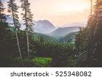 scenic view from mt rainier... | Shutterstock . vector #525348082