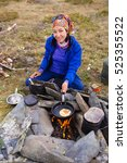 Cooking In The Camp Outdoors....