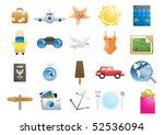 vector illustration of holiday... | Shutterstock .eps vector #52536094