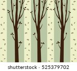 trees background. the trunk and ... | Shutterstock .eps vector #525379702
