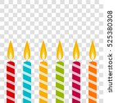 candles | Shutterstock .eps vector #525380308