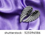 Silver Wings Shaped Earrings O...