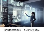 high technologies for your... | Shutterstock . vector #525404152
