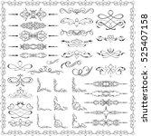 ornate splendid design elements ... | Shutterstock .eps vector #525407158