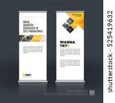 business vector set of modern... | Shutterstock .eps vector #525419632