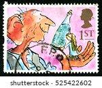 great britain   circa 1993  a... | Shutterstock . vector #525422602