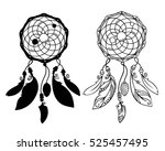 Hand Drawn Dreamcatchers With...