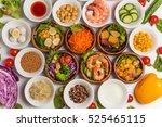 salad | Shutterstock . vector #525465115