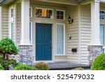 a nice entrance of a luxury... | Shutterstock . vector #525479032