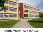 school building. exterior view... | Shutterstock . vector #525554962