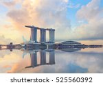 singapore  republic of... | Shutterstock . vector #525560392