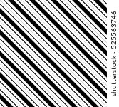 seamless diagonal stripe... | Shutterstock . vector #525563746