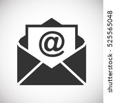 mail icon  | Shutterstock .eps vector #525565048
