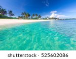 beach and tropical sea | Shutterstock . vector #525602086