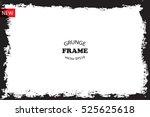 vector grunge frame.grungy... | Shutterstock .eps vector #525625618