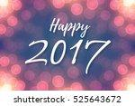 happy 2017 text design on...   Shutterstock .eps vector #525643672