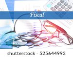fiscal   abstract digital... | Shutterstock . vector #525644992