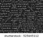 mathematics seamless pattern...   Shutterstock . vector #525645112