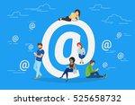 symbol at concept illustration... | Shutterstock . vector #525658732