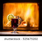 Hot Mulled Wine With Orange...