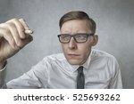 writing on glass | Shutterstock . vector #525693262