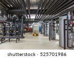 heating system of the building. ...   Shutterstock . vector #525701986