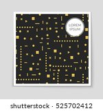 abstract vector layout... | Shutterstock .eps vector #525702412