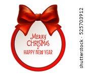 merry christmas banner. | Shutterstock .eps vector #525703912