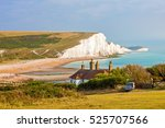 The Seven Sisters Chalk Cliffs...
