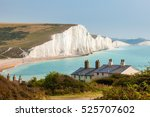 The Seven Sisters Chalk Cliffs...