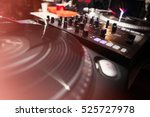 concert dj turntable.sound... | Shutterstock . vector #525727978