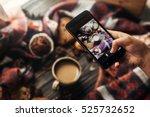 instagram photography blogging... | Shutterstock . vector #525732652