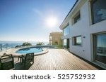 luxury estate  villa  | Shutterstock . vector #525752932