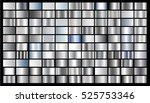 silver gradient background... | Shutterstock .eps vector #525753346
