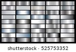 silver gradient background... | Shutterstock .eps vector #525753352
