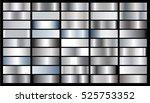silver gradient background... | Shutterstock .eps vector #525753352