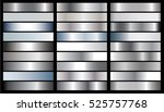 silver gradient background... | Shutterstock .eps vector #525757768