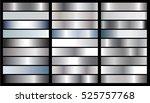 silver gradient background... | Shutterstock .eps vector #525757768