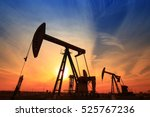 the oil pump  industrial... | Shutterstock . vector #525767236