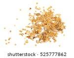 mixed bird seed isolated on... | Shutterstock . vector #525777862