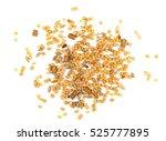 mixed bird seed isolated on... | Shutterstock . vector #525777895
