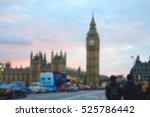 blurred image of people walking ... | Shutterstock . vector #525786442
