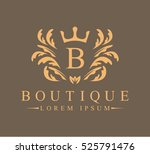 luxury  heraldic  royal ... | Shutterstock .eps vector #525791476